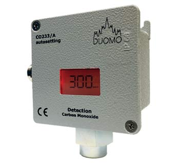 CO233/A - Carbon Monoxide Gas Sensor with Display