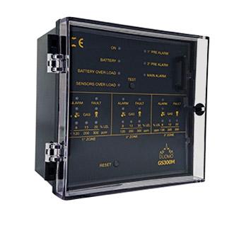 GS300M - 3 Channel Gas Detection Controller