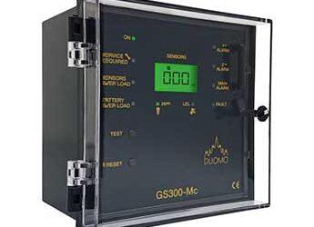 GS300Mc – 3 Channel Gas Detection Controller