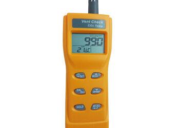 Vent Check – Portable CO2 & Temperature Sensor