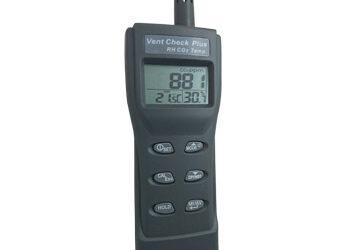 Vent Check Plus – Portable CO2, Temperature & RH