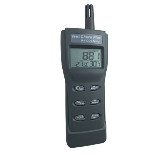 Vent Check Plus - Portable CO2, Temperature & RH