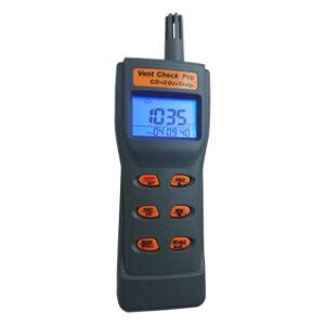 Vent Check Pro - Portable CO2, CO & Temperature Sensor
