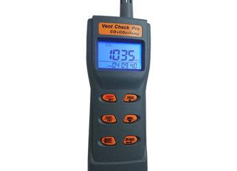 Vent Check Pro – Portable CO2, CO & Temperature Sensor